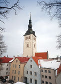 St. Nicholas Church, Niguliste Museum. Tallinn, Estonia — Stock Photo