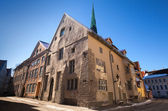 Street view on old town of Tallinn, Estonia — Stock Photo