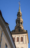 St. Nicholas Church, Niguliste Museum. Old Tallinn, Estonia — Stock Photo