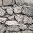 Old gray stone wall background — Stock Photo