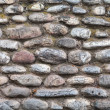 Old round stone wall background texture — Stock Photo #29323515