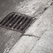 Drainage cover on road side — Stock Photo #29346049
