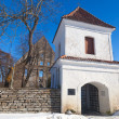 Pirita Convent entrance tower and walls — Foto de Stock