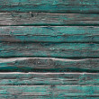 Old rural green wooden wall background texture — Stock Photo