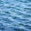 Stock Photo: Blue sewater surface with waves. Natural background texture