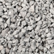 Gray industrial gravel background texture — Stock Photo