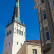 Church of St. Olaf in old Town of Tallinn, Estonia — Stock Photo