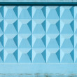 Stock Photo: Abstract construction photo texture with blue concrete fence block