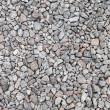 Gray industrial gravel background photo texture — Stock Photo