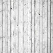 Seamless background texture of old white painted wooden lining boards wall — Stock Photo