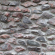 Old gray rough stone wall. Vertical background photo texture — Stockfoto #33633093