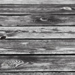 Old dark wooden table surface. Detailed background texture — Stock Photo