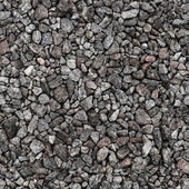 Gray industrial gravel. Seamless background photo texture — Foto Stock