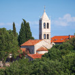 Stock Photo: SerbiOrthodox Monastery of Rezevici, Montenegro, Adriatic Sea
