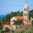 Orthodox Monastery of Rezevici, Adriatic Sea coast, Montenegro — Stock Photo