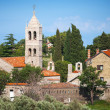 Serbian Orthodox Monastery of Rezevici, Adriatic Sea coast — Stock Photo #34604107