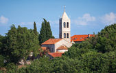Serbian Orthodox Monastery of Rezevici, Montenegro, Adriatic Sea — Foto Stock