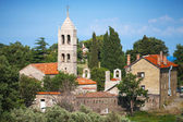 Serbian Orthodox Monastery of Rezevici, Adriatic Sea coast — Stock Photo