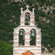 Bell tower of the Orthodox Church. The monastery Gradiste, Montenegro — Stock Photo