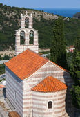 Small Serbian Orthodox Church in the monastery Gradiste, Montenegro — Stock Photo