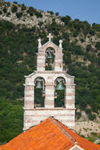 Bell tower of the Orthodox Church. The monastery Gradiste, Montenegro — Foto Stock