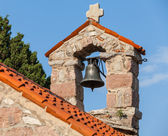 Small bell tower in The monastery Gradiste, Montenegro — Stock Photo