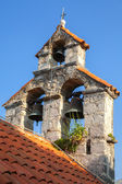 Bell tower of the Serbian Orthodox Church. The monastery Gradiste, Montenegro — Stock Photo
