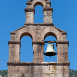 Serbian Orthodox Church bell tower in Petrovac town, Montenegro — Stock Photo