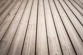 Wooden floor background photo texture with perspective effect — Stock Photo
