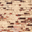 Old grunge colorful brick wall photo texture — Stock Photo