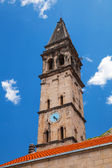 St. Nicholas Cathedral in Perast town. Kotor Bay, Montenegro — Stock Photo
