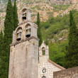 Bell tower of Monastery Banja. Risan, Montenegro — Stock Photo