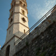 Old church in Perast town, Bay of Kotor, Montenegro — Stock Photo