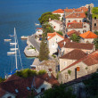 Adriatic sea coastal town Perast, Bay of Kotor, Montenegro — Stock Photo