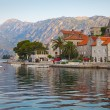 Perast town landscape, Bay of Kotor, Montenegro — Stock Photo #37174259