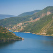 Bay of Kotor in the Summer morning, Adriatic Sea, Montenegro — Stock Photo
