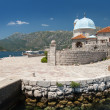 Old church on small island in Bay of Kotor, Montenegro — Stock Photo #38556819