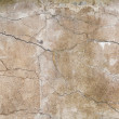 Background texture of old yellow wall with stucco and cracks — Stock Photo