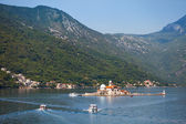 Our Lady of the Rocks. Island in Kotor Bay — Stock Photo