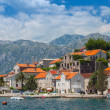 Ancient coastal town Perast, Bay of Kotor, Montenegro — Stock Photo #40330145