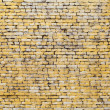 Stockfoto: Old yellow brick wall background photo texture