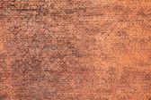Старые красные кирпичные стены малого фона фото текстуры — Стоковое фото