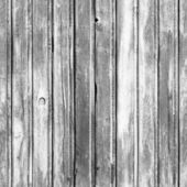 Seamless background texture of old white wooden wall — Stock Photo