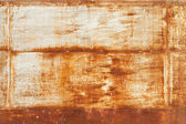 Old rusted metal wall detailed grunge photo texture — Stock Photo