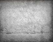 Gray concrete wall with plaster, background texture — Stock Photo