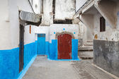 Streets of old Medina. Historical central part of Tanger city, Morocco — Stock Photo