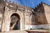 Ancient stone fortress in Madina. Old part of Tangier, Morocco — Stock Photo