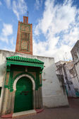 Ancient mosque. Old part of Tangier town, Morocco — Stock Photo