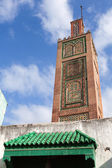 Ancient mosque in Medina. Old part of Tangier town, Morocco — Stock Photo