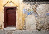 Wall fragment in old Medina, historical part of Tangier, Morocco — Stock Photo